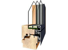 Fenster, HolzAlu doubleflat