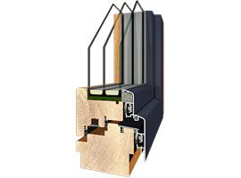 Holzverbund Fenster