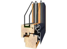 Holz-Alu insideflat