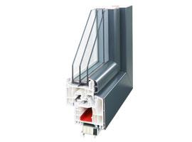 Kunststoff-Alu Fenster energyplus
