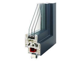 Kunststoff Alu Fenster Stratos